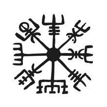 Vegvisir Viking Symbol Compass...