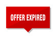 offer expired red tag