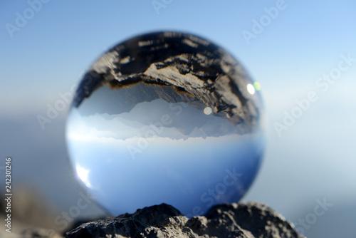 Fotografie, Obraz  Allgäuer Alpen - Blick vom Nebelhorn