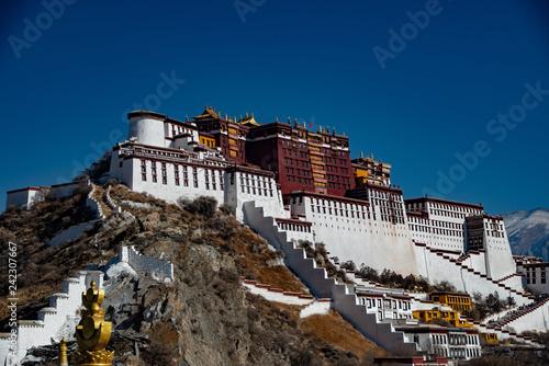 Potara castle in Tibet
