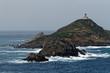 Przylądek Pointe de la Parata, niedaleko Ajaccio (Korsyka)