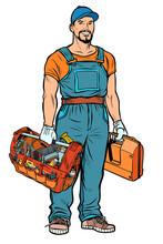 Repairman Handyman Service Professional