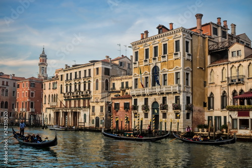 In de dag Centraal Europa Venedig, Canal Grande