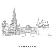 Brussels Belgium Famous Architecture