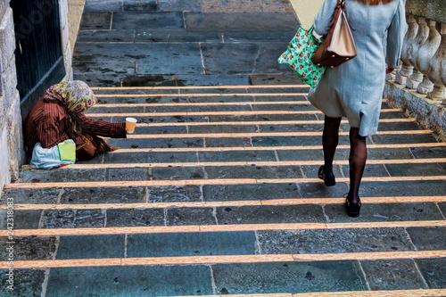 Tuinposter Centraal Europa Venedig, Kontraste