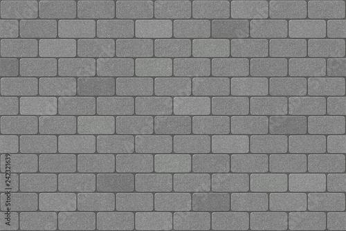 Fotografie, Obraz Brick pattern running bond paving texture.