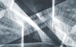 Leinwanddruck Bild - Blue toned digital background 3d concrete