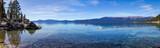 Lake Tahoe panoramiczny krajobraz górski scena w Kalifornii