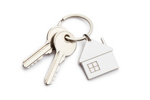 House Keys With House Shaped K...