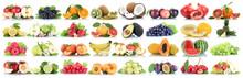 Früchte Frucht Obst Collage A...