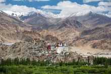 Spituk Monastery With View Of ...