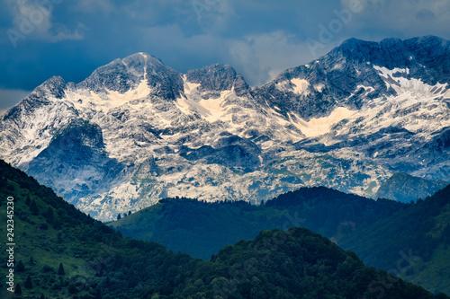 Foto  Julian Alps and Kanin Mountain