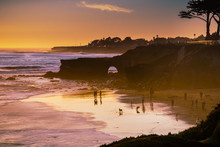 Sunset On The Pacific Ocean Co...