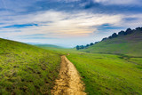 Trail in Brushy Peak Regional Park, East San Francisco bay, Livermore, California