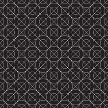 Seamless Geometric Line Patter...