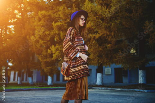 Cadres-photo bureau Gypsy street fashion for girls