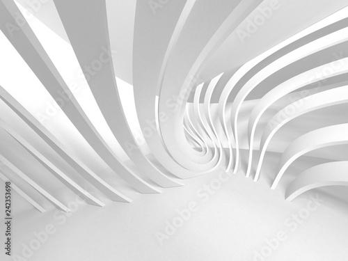 Fototapety powiększające wnętrze  abstract-modern-white-architecture-background