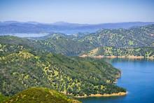 Aerial View Of Berryessa Lake ...