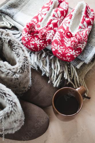 Fotografie, Obraz  Warm home clothes