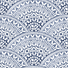 Seamless Pattern Of A Seigaiha...