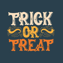 Vector Halloween Quote Typogra...