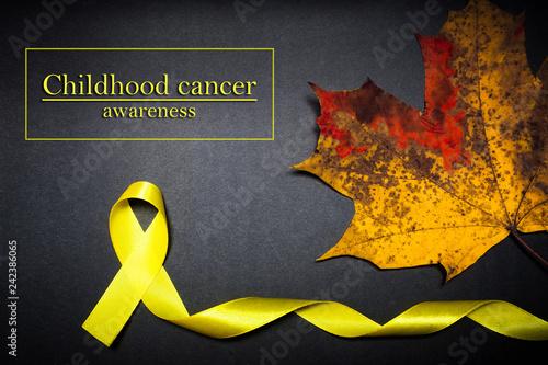 Fotografía  Hope childhood cancer awareness day