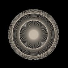 Abstract Spirograph Art , Para...