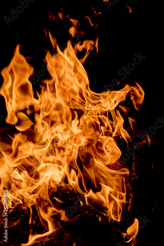 Large fire