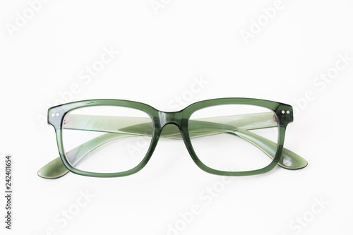 Fototapeta Green Acetate Eyeglasses