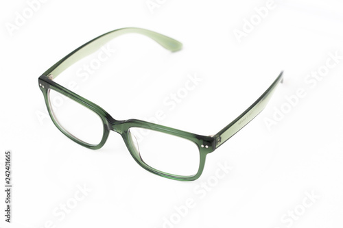 Green Acetate Eyeglasses Canvas-taulu