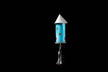 A Rocket Made Of Toilet Paper ...