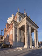 Fototapeta na wymiar san Giorgio church, Bernate Ticino
