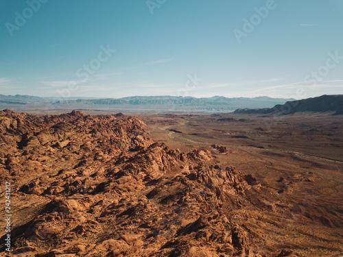 American Southwest Landscape Striations Rock Sediment Canyon Canvas Print