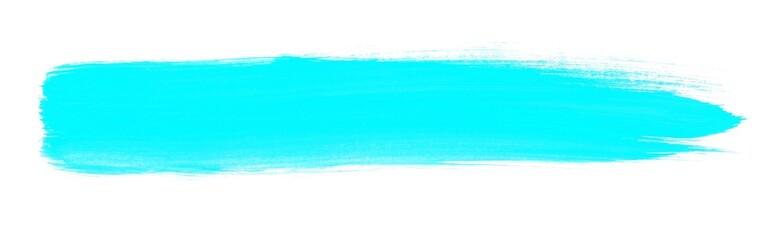 Hellblauer mit einem Pinsel gemalter Streifen