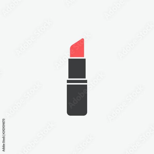 Fotografie, Obraz  Lipstick Vector Icon