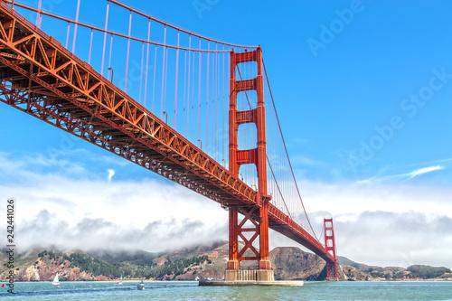 Photo The Golden Gate Bridge in San Francisco
