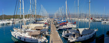 A Marina View In Aegean Cost F...