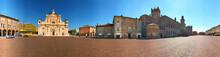 Carpi, Piazza Dei Martiri, Castello E Duomo A 360°