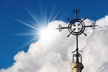 Wrought Iron Cross - Religious Symbol