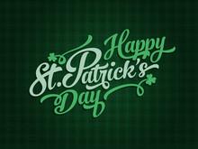 Saint Patrick's Day Calligraph...