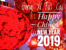 Wishing You A Very Happy Chinese New Year 2019