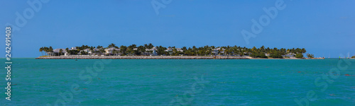 Spoed Foto op Canvas Centraal-Amerika Landen Panoramic image of sunset Key West Florida