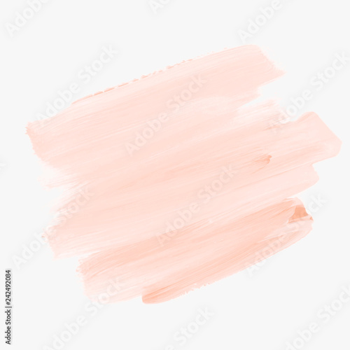 Valokuva  Brush stroke painted background vector