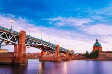 Saint-Pierre Bridge Leading To...