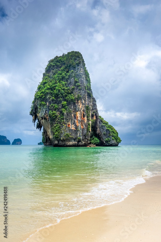 Keuken foto achterwand Asia land Phra Nang Beach in Krabi, Thailand