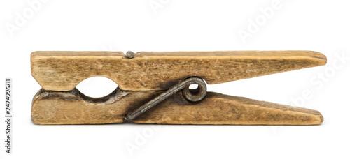 Fotografie, Obraz  Old wooden peg