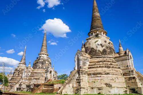 Keuken foto achterwand Asia land Wat Phra Si Sanphet temple, Ayutthaya, Thailand