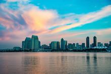 Sunrise Over The San Diego Skyline