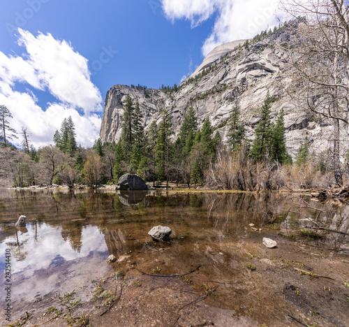 Fototapeta premium Park Narodowy Mirror Lake Yosemite