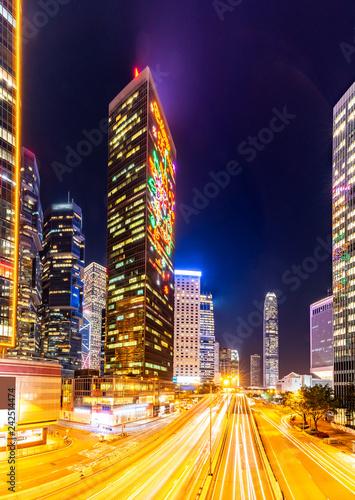 Foto op Aluminium Aziatische Plekken Hong Kong Cityscape